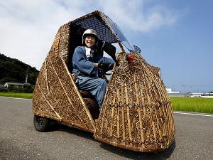 日本唯一の虎竹の里から日本の竹文化と地球温暖化を世界に発信