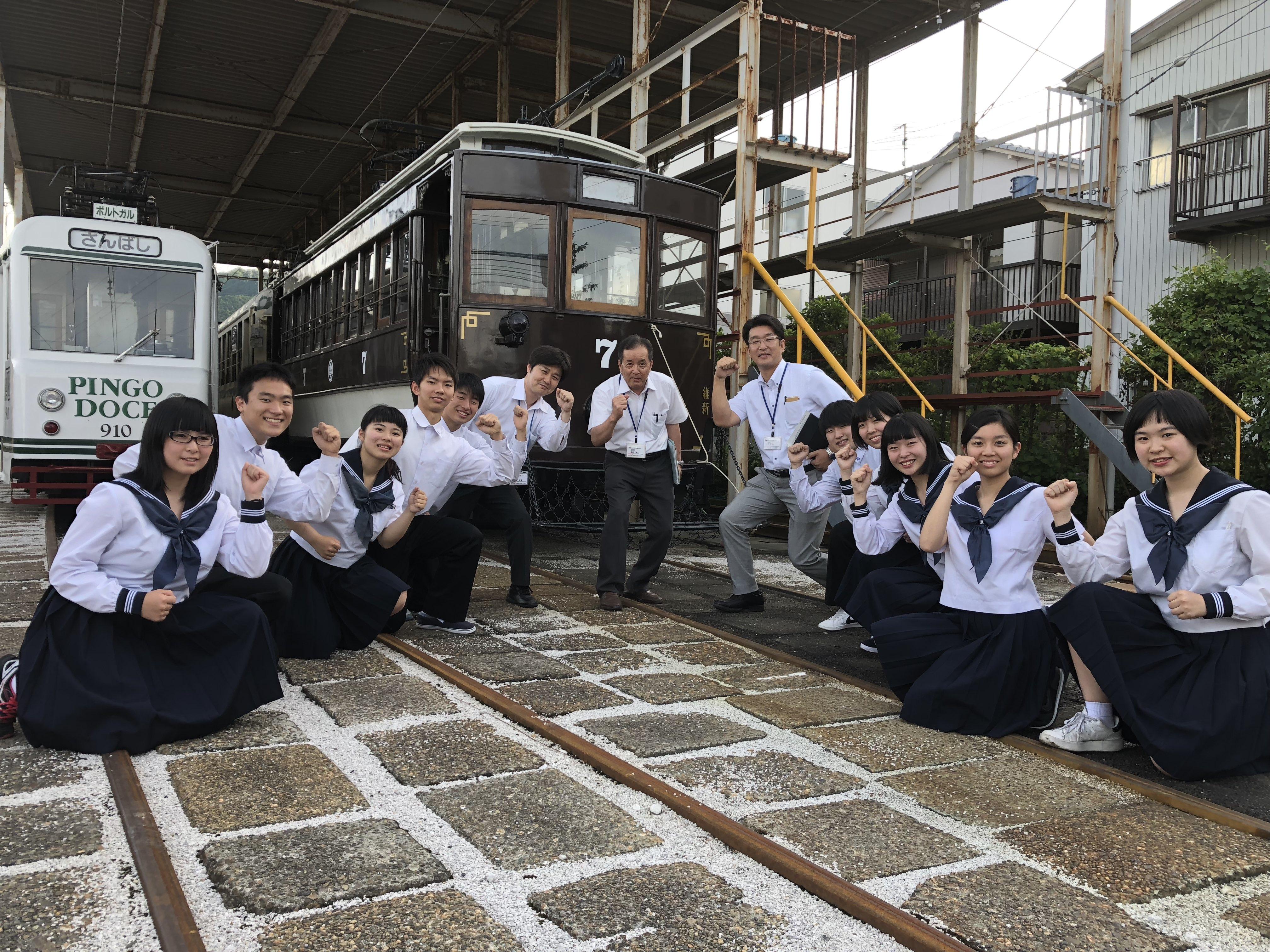 「電車で市商祭へGO」プロジェクト