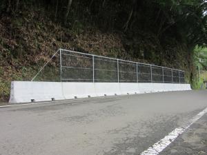 小規模落石防護柵「SRフェンス」