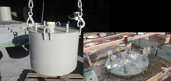液状化対策型耐震性貯水槽「UN-FLOAT40」
